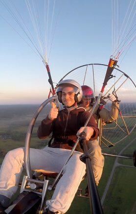 Ознакомительные полёты на параплане Expert
